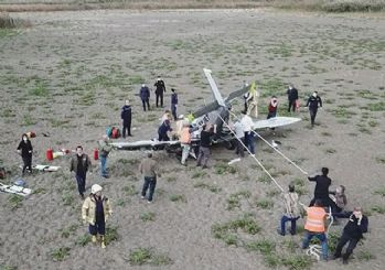 Düşen uçağın öğrenci pilotu acil iniş için izin istemiş