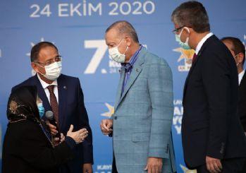 Yaşlı kadın, Erdoğan'la konuştu: Damadına, ona benim için sarıl