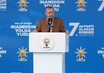 Erdoğan'dan ABD'nin yaptırım tehdidine cevap: Yaptırımın ne ise geç kalma yap!
