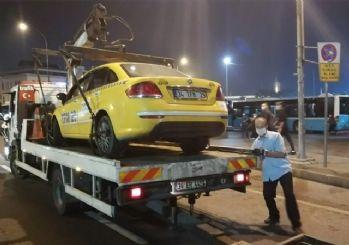 İstanbul'da taksicilere yönelik denetim yapıldı