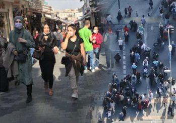 Mahmutpaşa'da halk maskesiz dolaşıyor