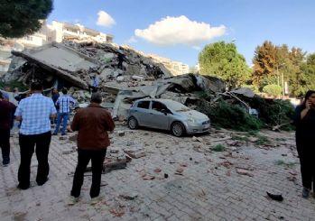 İzmir'deki 6.6'lık depremden ilk kareler