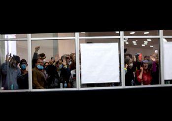 ABD'de 'Sayımı durdurun' protestosu