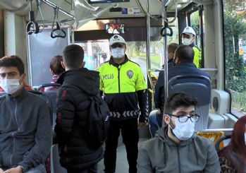 Maltepe'de ceza kesilen minibüsçü: Metrobüse, metroya da baksınlar