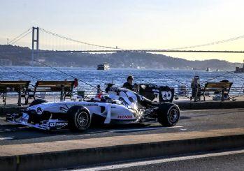 İstanbul'da Formula 1 heyecanı