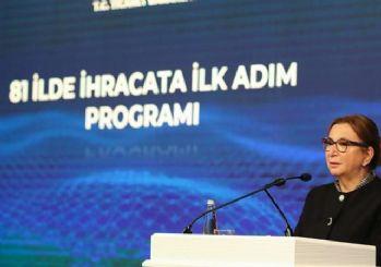Ruhsar Pekcan: İhracatçılara uluslararası piyasadan 561 milyon dolar kredi sağlandı