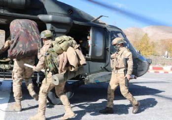 Bitlis'te, 'Yıldırım-15 Mutki-Sarpkaya' operasyonu başlatıldı
