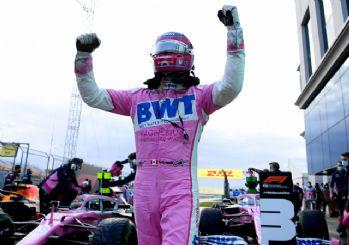 Formula 1 Türkiye GP'de büyük sürpriz! Lance Stroll pole pozisyonunu kazandı