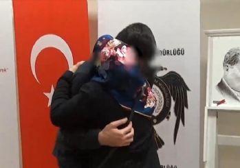 Muş'ta, ikna çalışmalarıyla teslim olan terörist ailesiyle buluştu