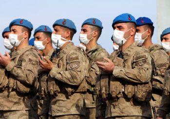 Adıyaman'da 241 komando, dualarla Suriye'ye uğurlandı