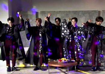 Ünlü K-Pop grubundan 'Erik Dalı' performansı