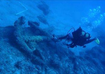 Antalya'daki su altında Osmanlı donanmasından izler bulundu