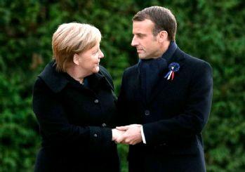 Yunan basını: Merkel Macron'a 'Türkiye'ye yaptırım için Biden'ı bekleyelim' dedi