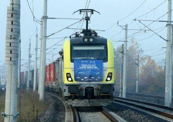 İhracat treni Çin'e vardı