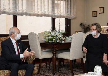 Kılıçdaroğlu, Seval Türkeş'i ziyaret etti