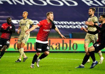 Fenerbahçe Gaziantep'te dağıldı! 3-1