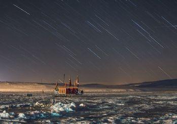 Çıldır Gölü'nde yıldızların görsel şöleni