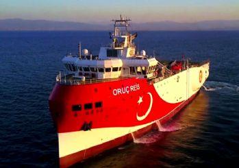 Türkiye Navtex ilan etmişti! Oruç Reis dümeni Doğu Akdeniz'e kırdı