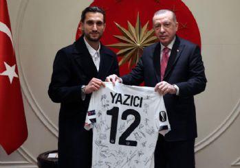 Cumhurbaşkanı Erdoğan, Yusuf Yazıcı'yı kabul etti