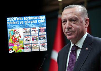 Erdoğan'dan, Sözcü'nün Ayasofya haberine tepki: Lüzumsuz gazete!