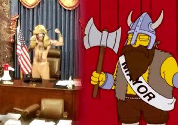 Simpsonlar'ın (The Simpsons) kehaneti yine tuttu: ABD'de Kongre Binası işgali