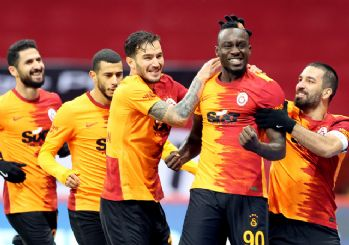 Galatasaray'dan gol yağmuru! 6-0