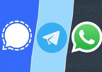 Telegram ve Signal yükseliyor! WhatsApp siliniyor
