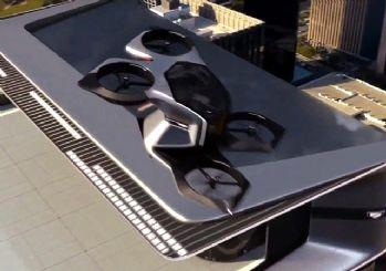 Cadillac sürücüsüz uçan arabasını tanıttı