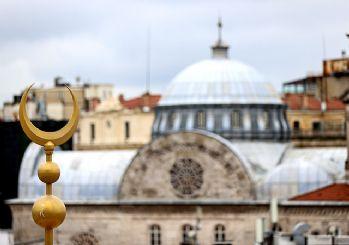 Taksim'de cami ve AKM inşaatları sona gelindi