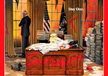 Time'ın Joe Biden kapağı bomba etkisi yarattı