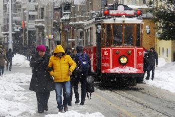 Meteoroloji uyardı: Kar yağışı İstanbul'a geri dönüyor