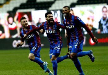 Trabzonspor, Beşiktaş'ı devirdi! 2-1