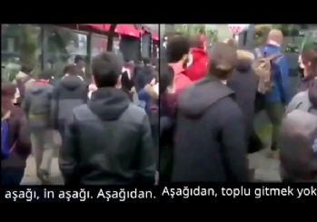 Twitter'da algı operasyonu! Emniyet, 'Aşağı bak' iddiasını videoyla yalanladı