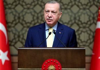 Erdoğan: Yeni bir projenin müjdesini vermek istiyorum...