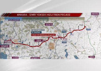 Yüksek Hızlı Tren projesi hayata geçiyor! Ankara-İzmir 3.5 saate iniyor