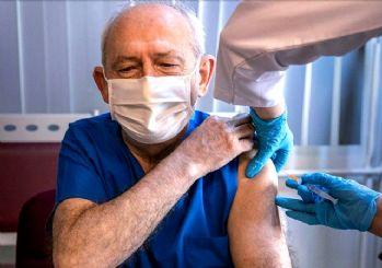 Kemal Kılıçdaroğlu, corona virüs aşısı oldu