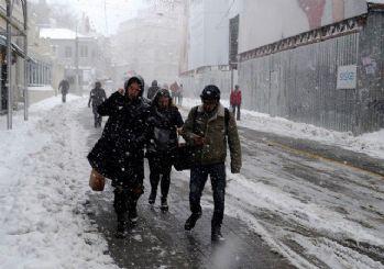 Meteoroloji'den son dakika hava durumu: Yoğun kar yağışına dikkat!