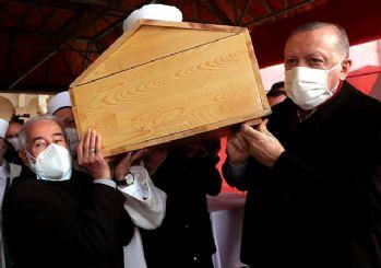 Erdoğan vasiyeti yerine getirdi, Hafız Abdullah Nazırlı'nın cenazesine katıldı