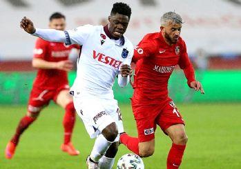 Trabzonspor fırtınası sürüyor! Gaziantep'i evinde yıktı 1-0