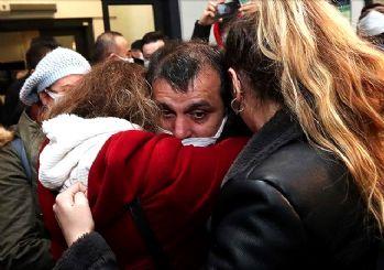 Kurtarılan 15 gemici İstanbul'da
