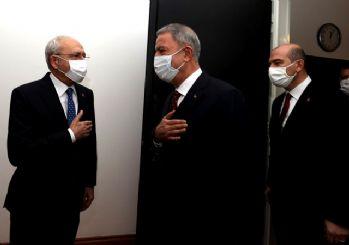 Hulusi Akar ve Süleyman Soylu Kılıçdaroğlu'nu ziyaret etti! Gara operasyonunu anlattılar