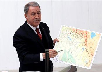 Hulusi Akar Meclis'te Gara operasyonunun ayrıntılarını anlattı