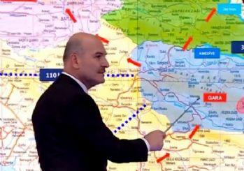 Süleyman Soylu: Kandil, Suriye ve Sincar koridorunun geçiş alanı Gara'dır