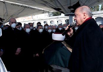 Erdoğan, Emin Saraç'ın cenazesinde Fatiha okudu