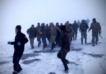Bitlis'te askeri helikopter düştü: 11 şehit 2 yaralı