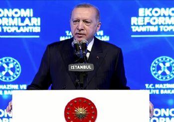 Erdoğan, ekonomi reform paketini açıkladı: Küçük esnafa vergi muafiyeti