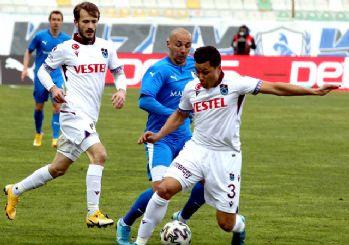 Trabzonspor'da düşüş sürüyor! 0-0