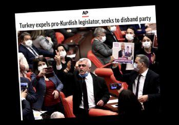HDP'ye kapatma davası dış basında