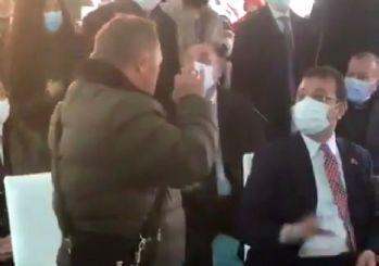 İmamoğlu'na bir protesto daha: Tühh sana!