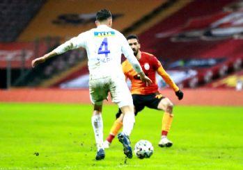 Rizespor'dan Galatasaray'a zirve darbesi! 4-3